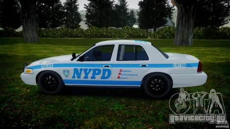 Ford Crown Victoria 2003 v.2 NOoSe для GTA 4 вид слева