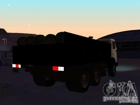 КАМАЗ 53212 бортовой для GTA San Andreas вид справа
