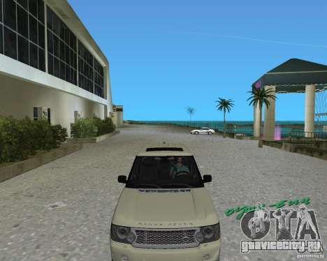 Rang Rover 2010 для GTA Vice City вид слева