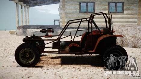 Half Life 2 buggy для GTA 4 вид сзади