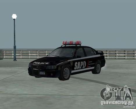 Cop Car Chevrolet для GTA San Andreas