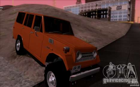 Toyota Land Cruiser FJ55 для GTA San Andreas вид сзади