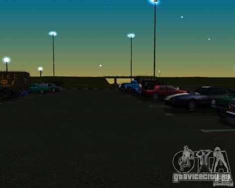 Автомобили на парковке у Анашана для GTA San Andreas второй скриншот