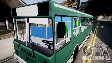 ЛиАЗ 5256 для GTA 4 вид снизу