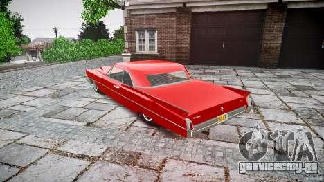 Cadillac De Ville v2 для GTA 4 вид сзади слева