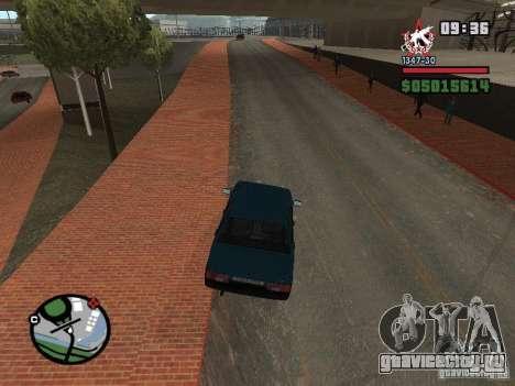 Todas Ruas v3.0 (San Fierro) для GTA San Andreas третий скриншот