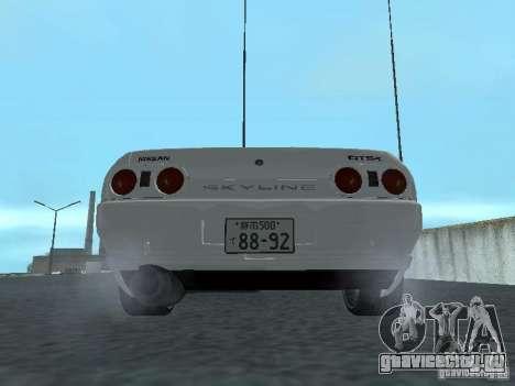 Nissan Skyline R32 Zenki для GTA San Andreas вид справа