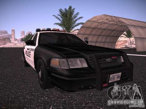 Ford Crown Victoria Police 2003 для GTA San Andreas вид слева