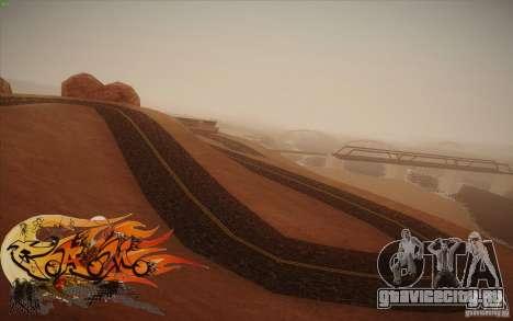 New Roads Las Venturas v1.0 для GTA San Andreas шестой скриншот