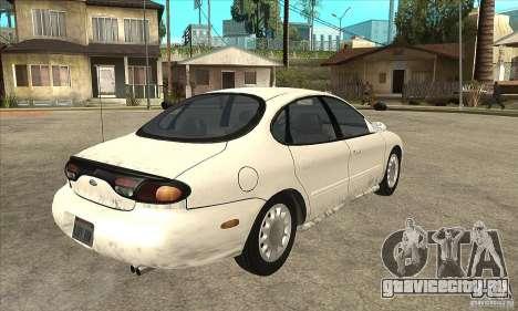 Ford Taurus 1996 для GTA San Andreas вид справа