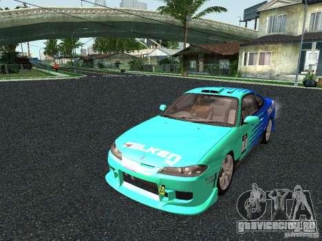 Nissan Silvia S15 Tunable для GTA San Andreas двигатель