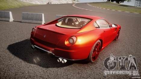 Ferrari 599 GTB Fiorano 2006 (Beta) для GTA 4 вид сбоку