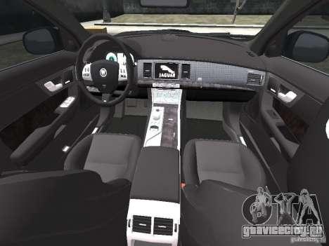 Jaguar XFR для GTA 4 салон