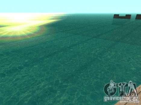 Вода по умолчанию для GTA San Andreas третий скриншот