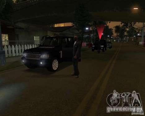 Охрана на джипе для GTA San Andreas