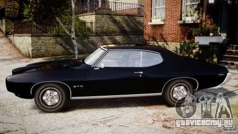 Pontiac GTO Judge для GTA 4 вид слева