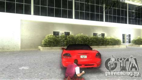 Dodge Viper SRT 10 Coupe для GTA Vice City вид слева