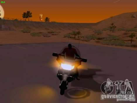 Honda Goldwing GL 1500 1990 г. для GTA San Andreas вид сбоку
