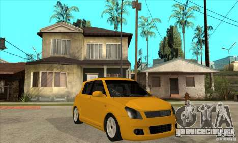 Suzuki Swift 4x4 CebeL Modifiye для GTA San Andreas вид сзади