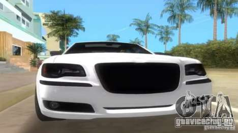 Chrysler 300C SRT V10 TT Black Revel 2011 для GTA Vice City вид справа