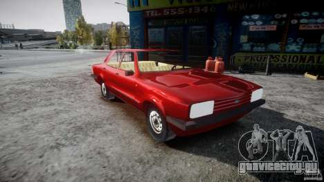 Ford Taunus для GTA 4 вид справа