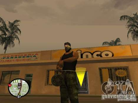 Миниган М134 из CoD:Mw2 для GTA San Andreas четвёртый скриншот
