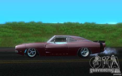 Dodge Charger RT 69 для GTA San Andreas вид слева