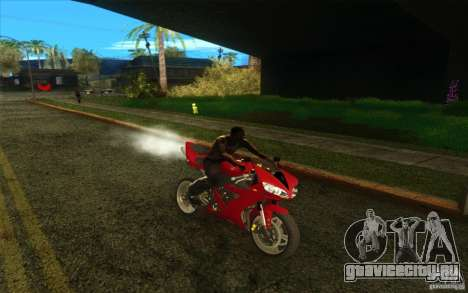 Yamaha YZF R1 Tuning Version для GTA San Andreas вид сверху