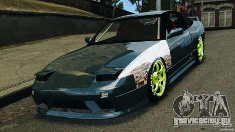 Nissan 240SX JDM для GTA 4 вид справа
