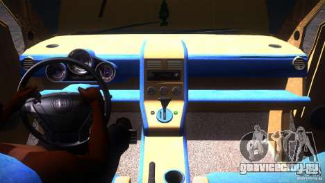 Honda Element LX для GTA San Andreas вид снизу