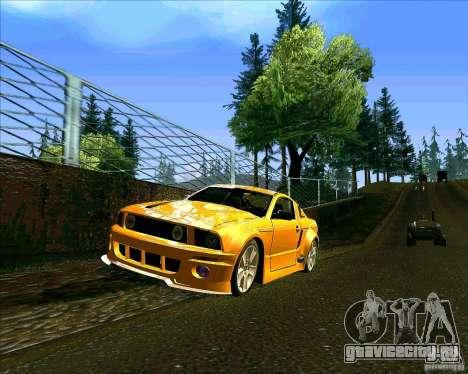 ENBseries V0.45 by 1989h для GTA San Andreas четвёртый скриншот