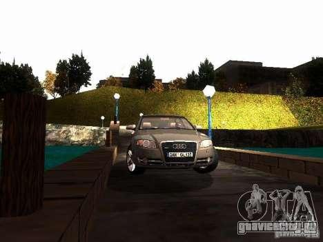 Audi A4 3.0 TDI Quattro 2005 для GTA San Andreas вид сзади