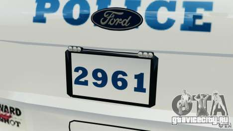 Ford Explorer NYPD ESU 2013 [ELS] для GTA 4 салон