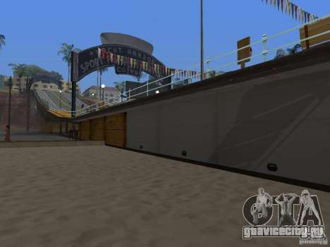 Новые текстуры пляжа v2.0 для GTA San Andreas третий скриншот