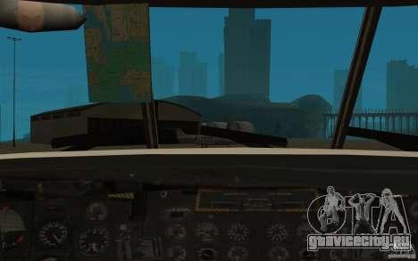 GTA SA Chinook Mod для GTA San Andreas вид сбоку