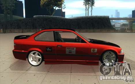 BMW Fan Drift Bolidas для GTA San Andreas вид изнутри