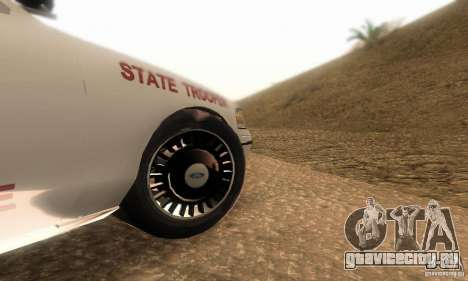 Ford Crown Victoria Louisiana Police для GTA San Andreas вид справа