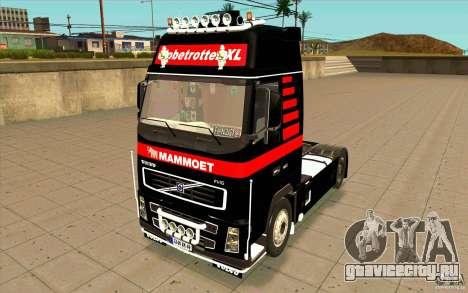 Volvo FH16 Globetrotter MAMMOET для GTA San Andreas