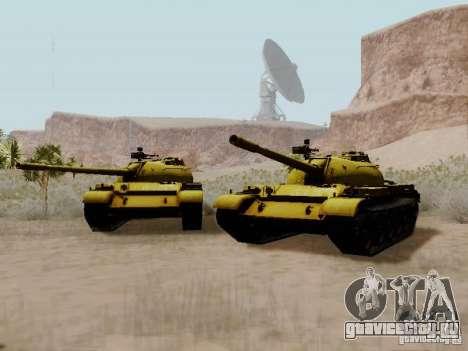 Type 59 GOLD Skin для GTA San Andreas вид справа
