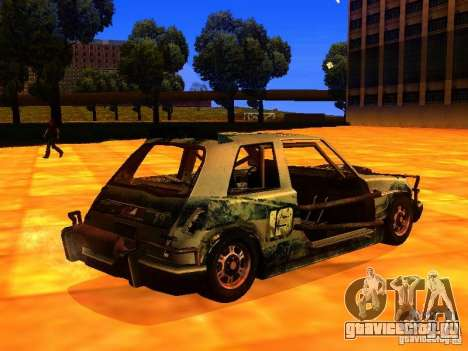 CHILI from FlatOut 2 для GTA San Andreas вид сзади слева