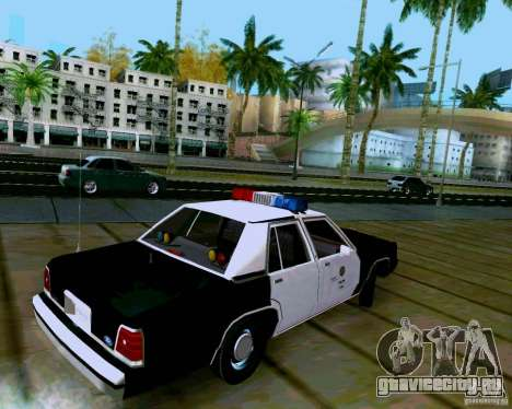 Ford Crown Victoria LTD LAPD 1991 для GTA San Andreas вид слева