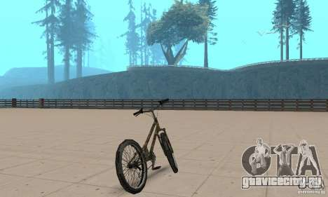 Trial bike для GTA San Andreas вид слева