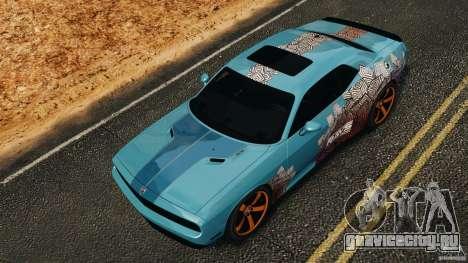 Dodge Rampage Challenger 2011 v1.0 для GTA 4 вид сверху