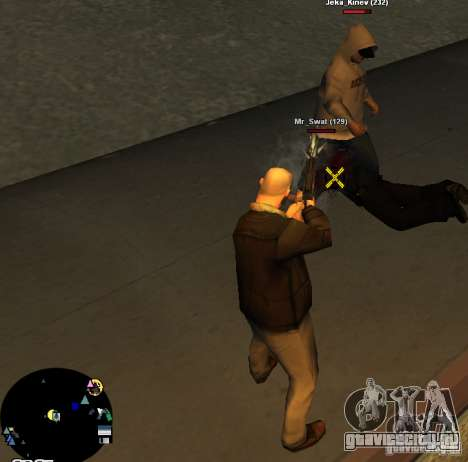 HUD №2 для GTA San Andreas второй скриншот