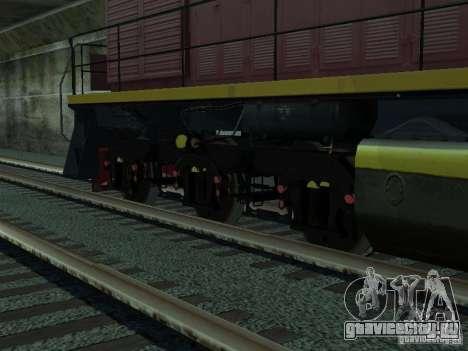 ТЭМ2У-915 для GTA San Andreas вид сзади слева