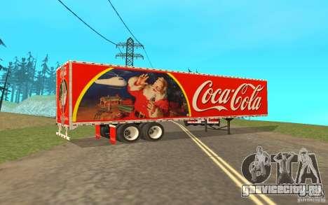 Полуприцеп к Peterbilt 379 Custom Coca Cola для GTA San Andreas