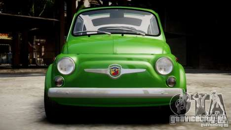 Fiat Abarth 595 SS 1968 для GTA 4 вид справа