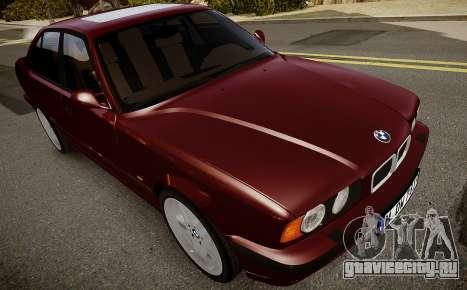 BMW M5 (E34) 1995 v1.0 для GTA 4 вид изнутри