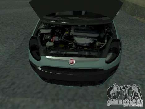 Fiat Punto EVO SPORT 2010 для GTA San Andreas вид справа