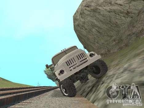 ЗИЛ 131 Парадный для GTA San Andreas вид изнутри